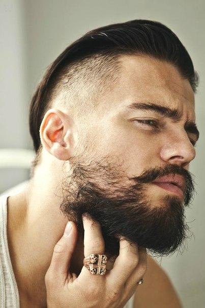 Как сделать прическу из бороды