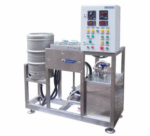 Оборудование для промывки пивных кег