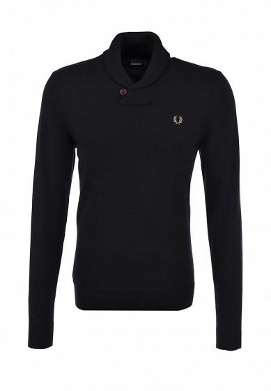 черный пуловер fred perry