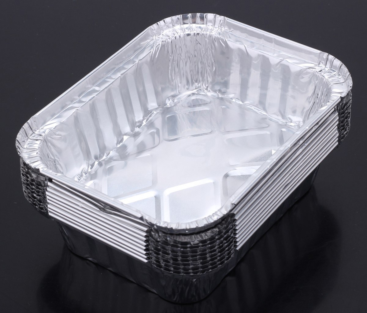 Одноразовая посуда из алюминия
