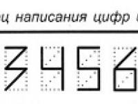 как пишется 7 в индексе на конверте - фото 5